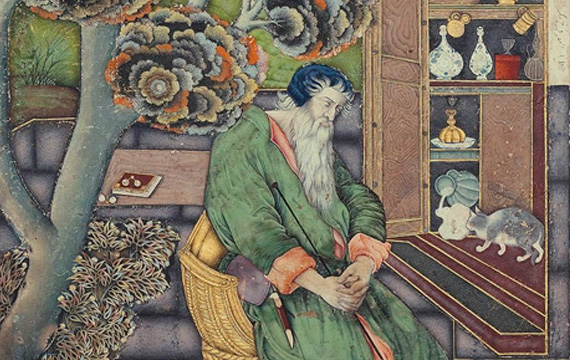 The Old Sufi, Farrukh Beg (1615).
